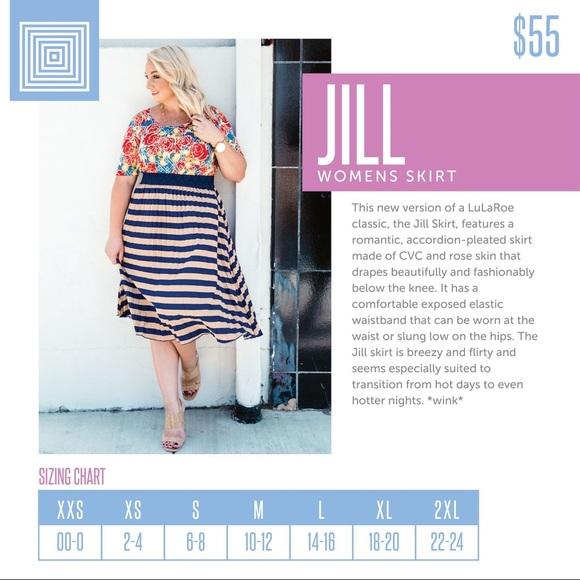 Lularoe Jill Skirt